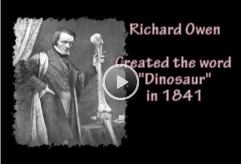 *Video:richard owen - dinosaurs in the bible